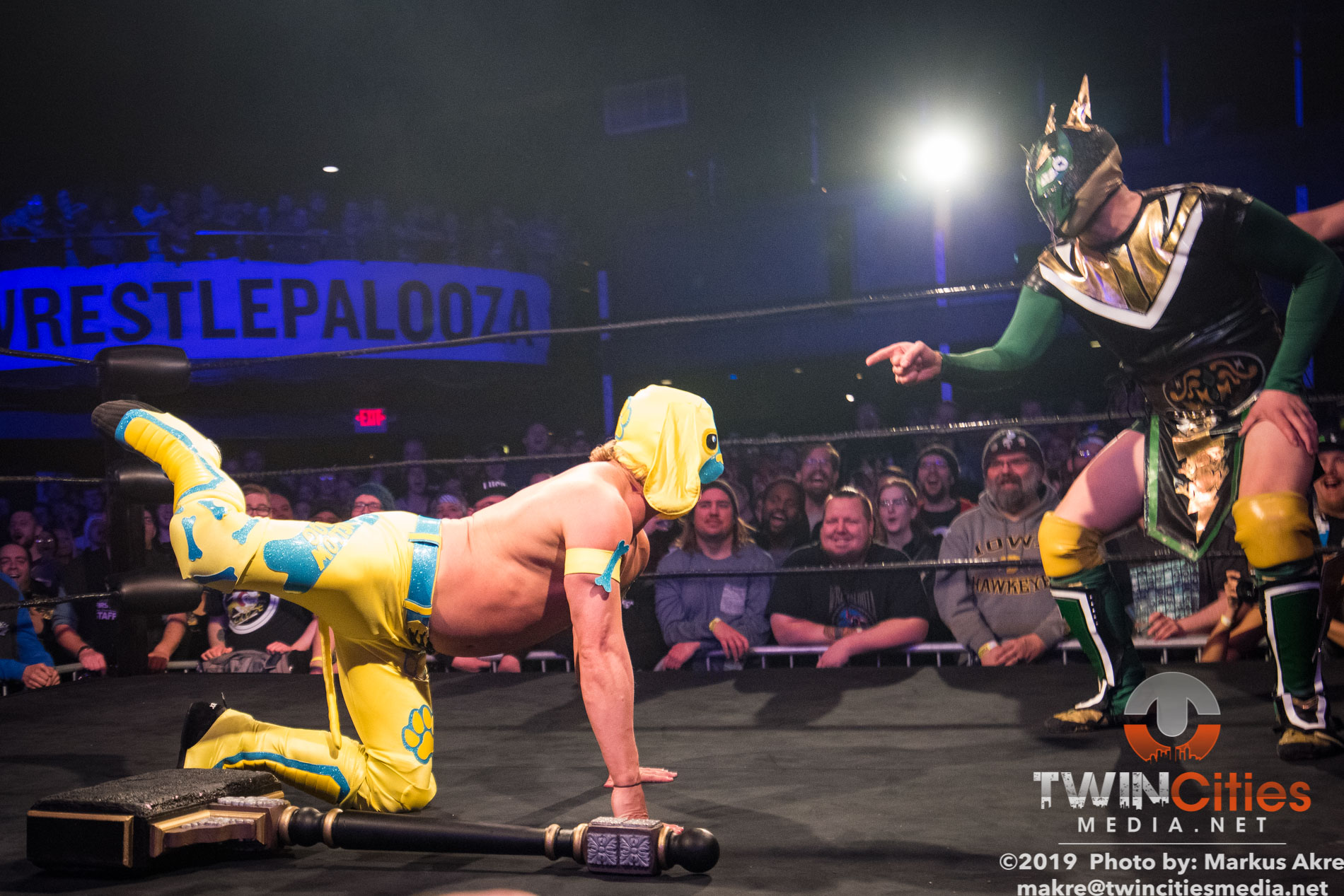 Wrestlepalooza - Match 1-2