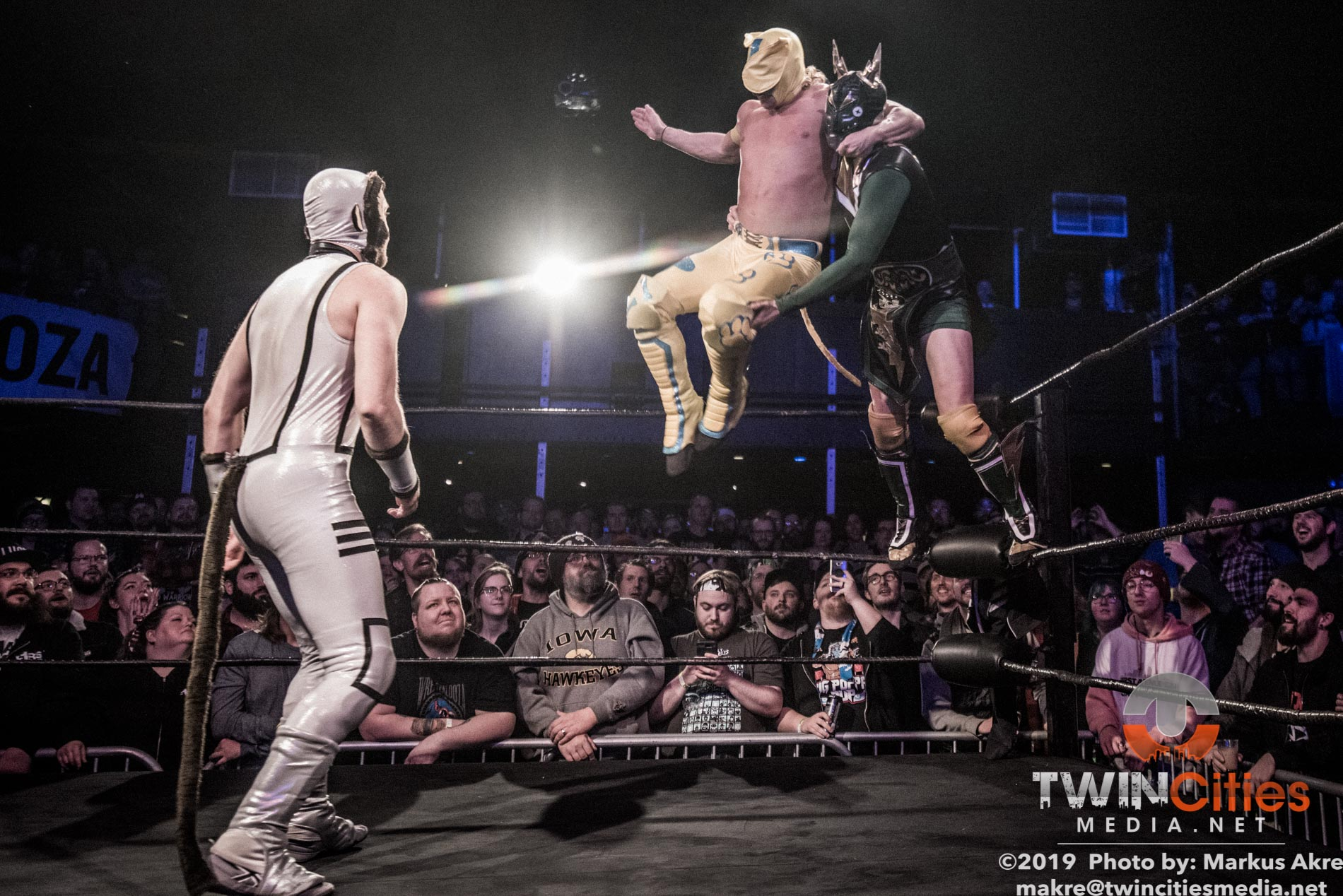 Wrestlepalooza - Match 1-8