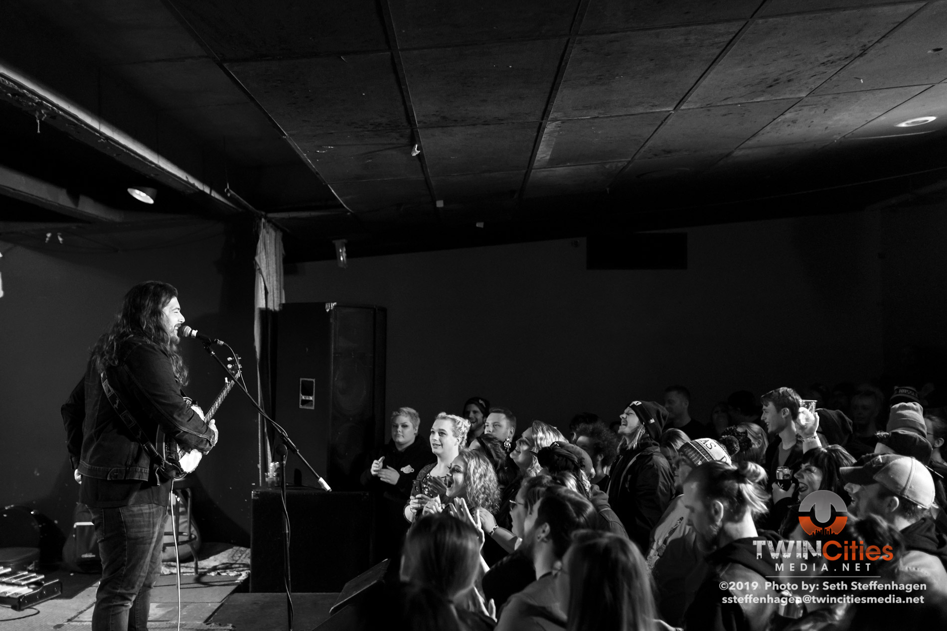 January 16, 2019 - Minneapolis, Minnesota, United States - Amigo The Devil live in concert at the Skyway Theatre, Studio B along with Harley Poe as the opener.  (Photo by Seth Steffenhagen/Steffenhagen Photography)