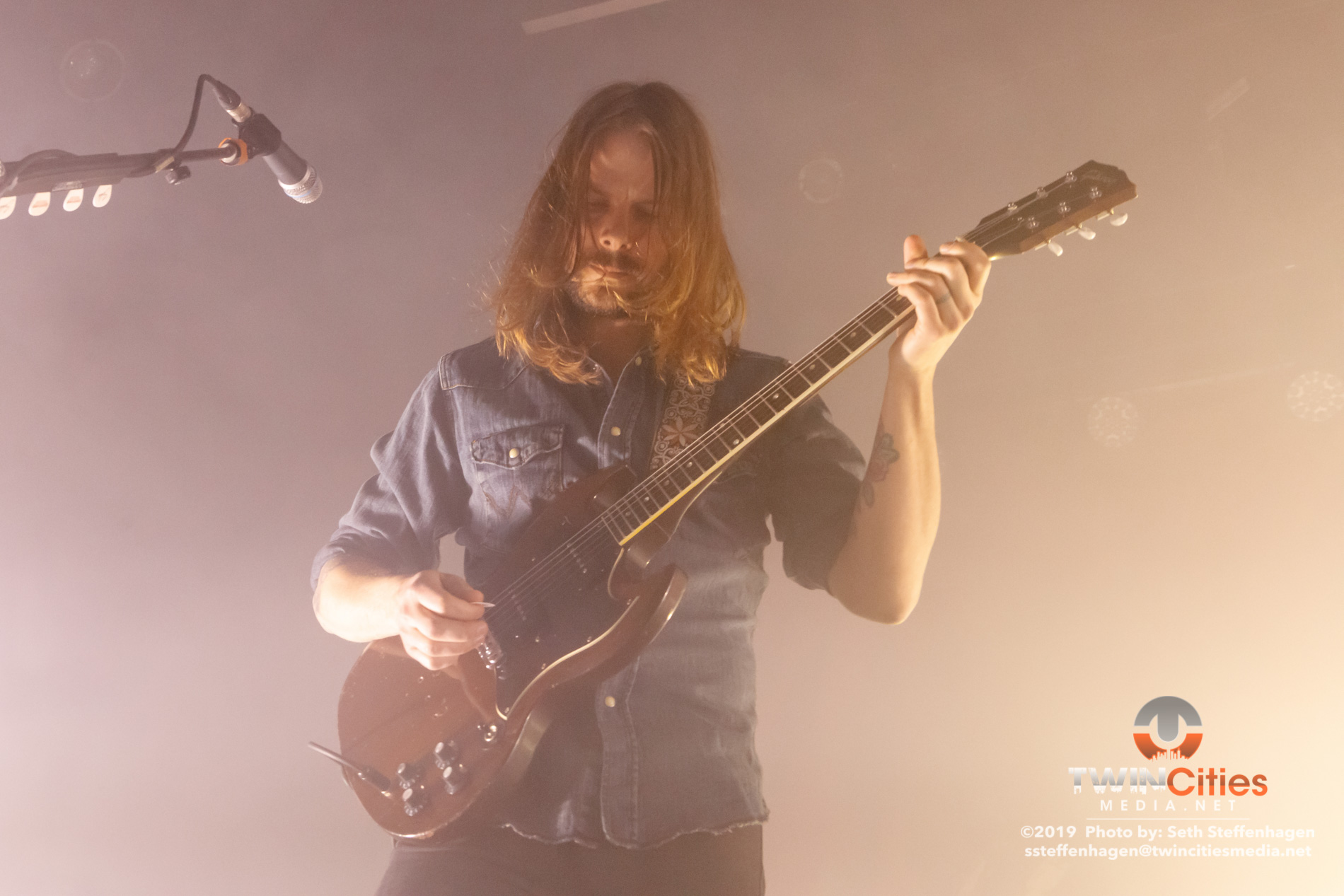 March 25, 2019 - Minneapolis, Minnesota, United States -  Graveyard live in concert at First Avenue opening for Uncle Acid And The Deadbeats.  (Photo by Seth Steffenhagen/Steffenhagen Photography)