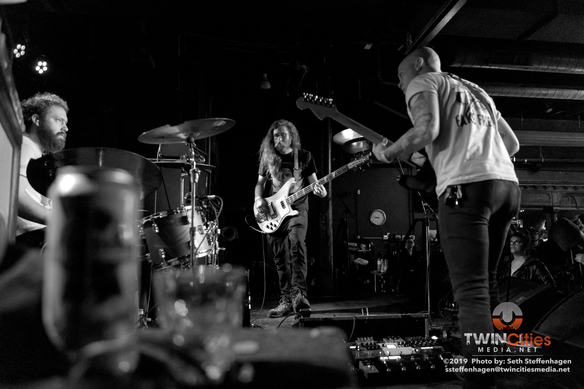 March 27, 2019 - Saint Paul, Minnesota, United States - Grogus live in concert at the Turf Club opening for Thou and Emma Ruth Rundle.  (Photo by Seth Steffenhagen/Steffenhagen Photography)