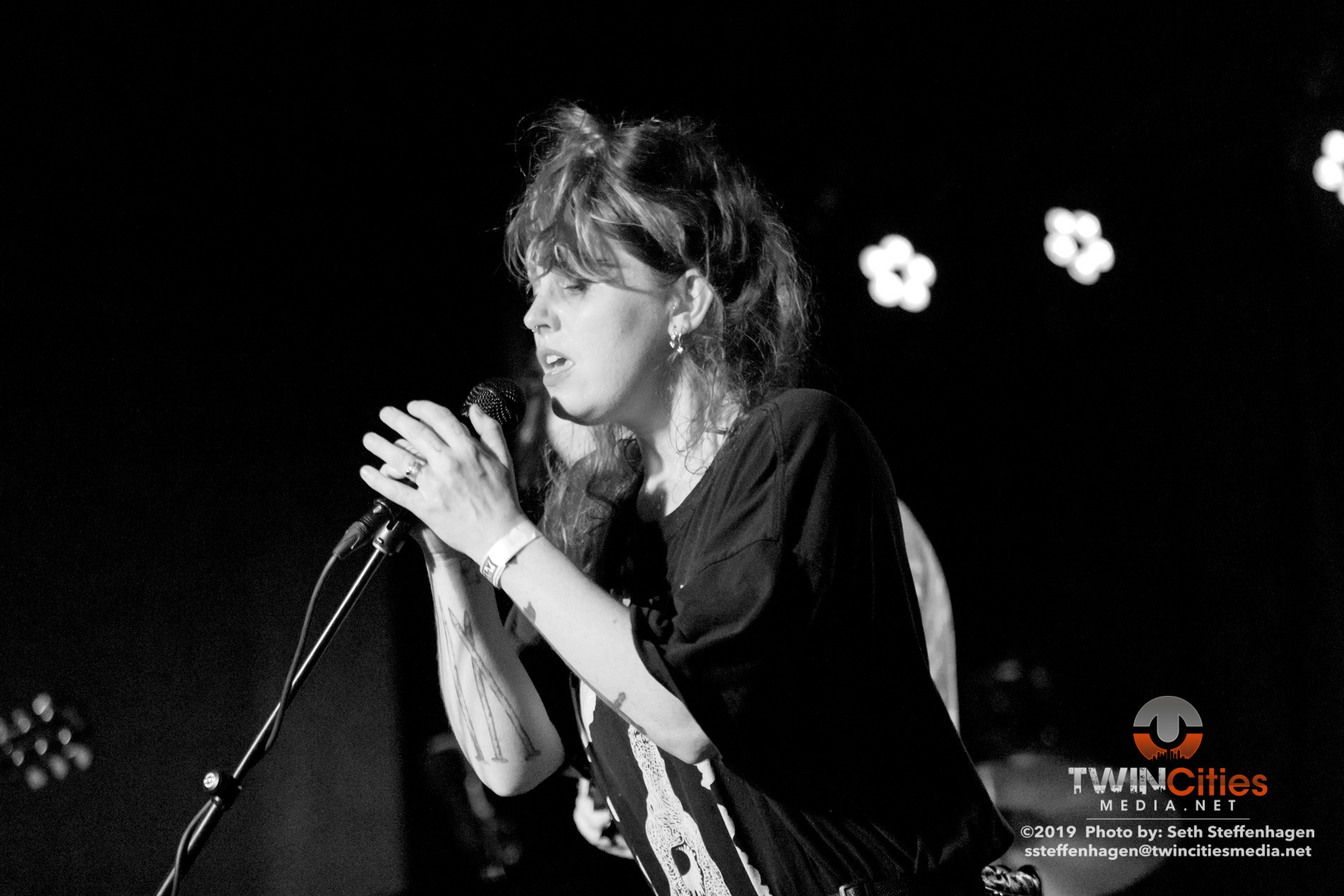 March 27, 2019 - Saint Paul, Minnesota, United States - Thou and Emma Ruth Rundle live in concert at the Turf Club along with False, Gorgus and Without as the openers.  (Photo by Seth Steffenhagen/Steffenhagen Photography)