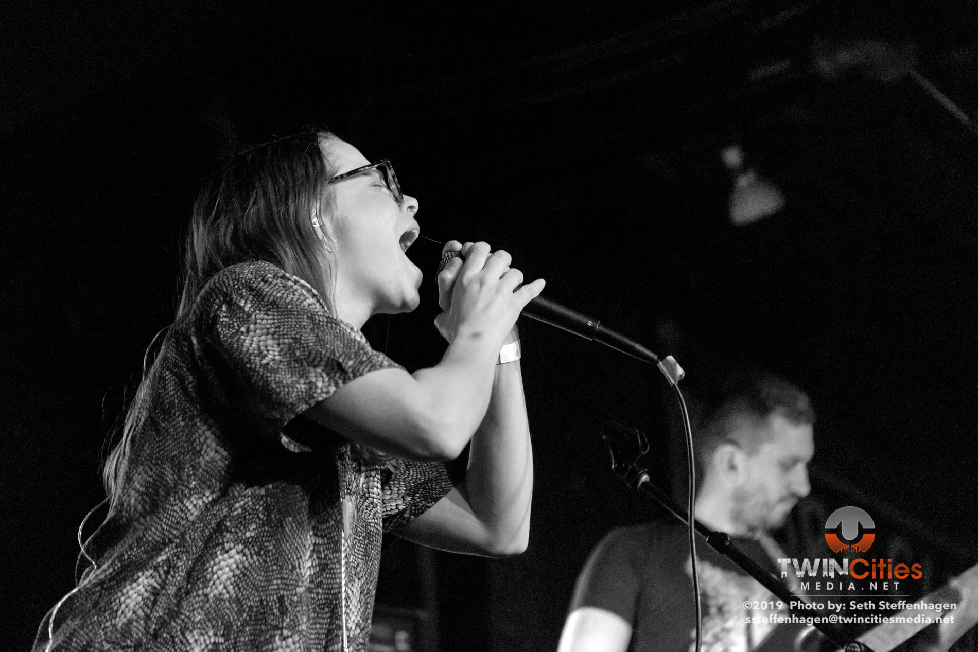 March 27, 2019 - Saint Paul, Minnesota, United States -  Without live in concert at the Turf Club opening for Thou and Emma Ruth Rundle.  (Photo by Seth Steffenhagen/Steffenhagen Photography)