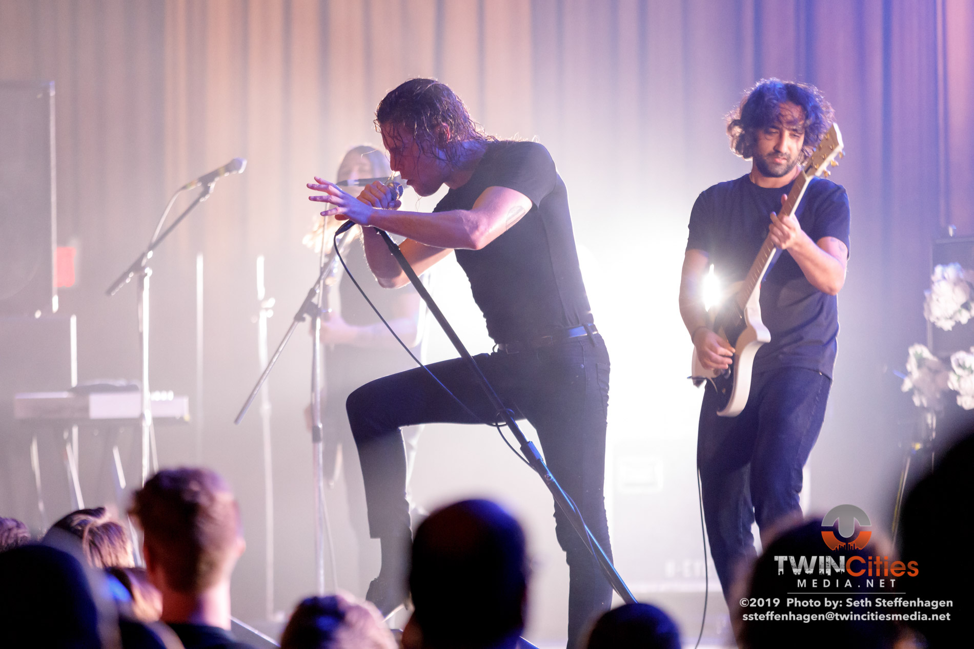 March 29, 2019 - Minneapolis, Minnesota, United States - Deafheaven live in concert at the Skyway Theatre co-headling with Baroness along with Zeal & Ardor as the openers.  (Photo by Seth Steffenhagen/Steffenhagen Photography)