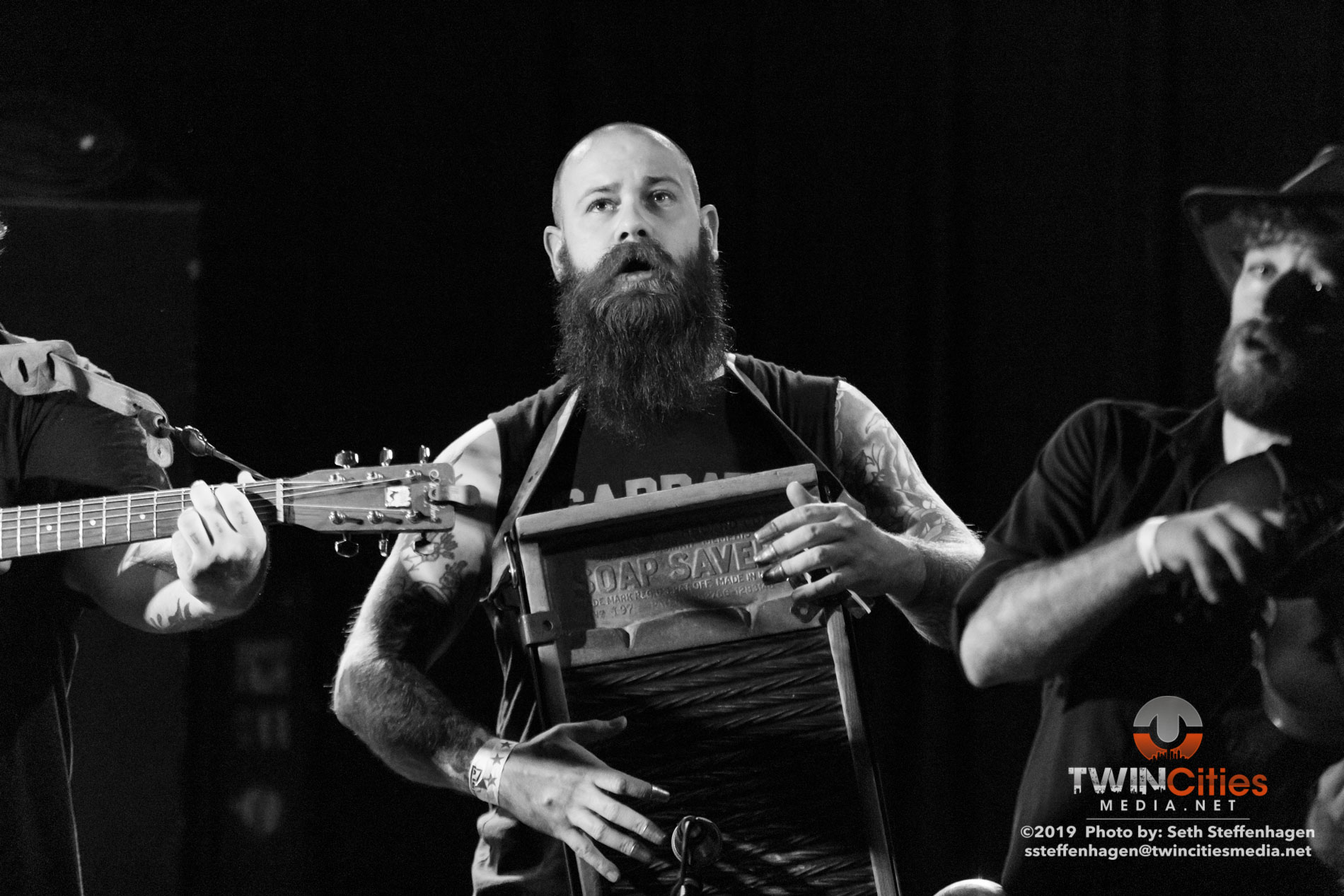 May 2, 2019 - Minneapolis, Minnesota, United States -  Tejon Street Corner Thieves live in concert at the 7th Street Entry opening for Bridge City Sinners.  (Photo by Seth Steffenhagen/Steffenhagen Photography)