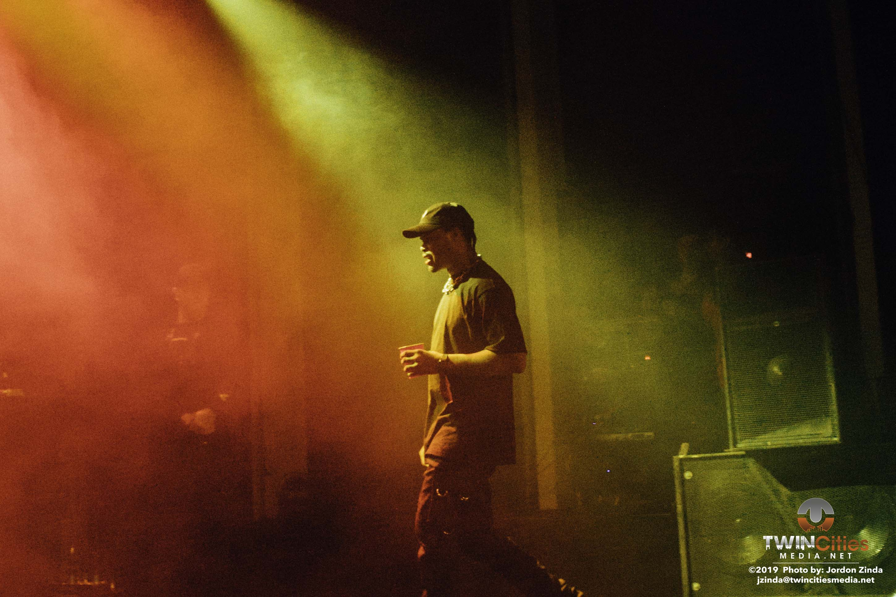 Xavier Wulf Brought Down the Marquee at The Varsity