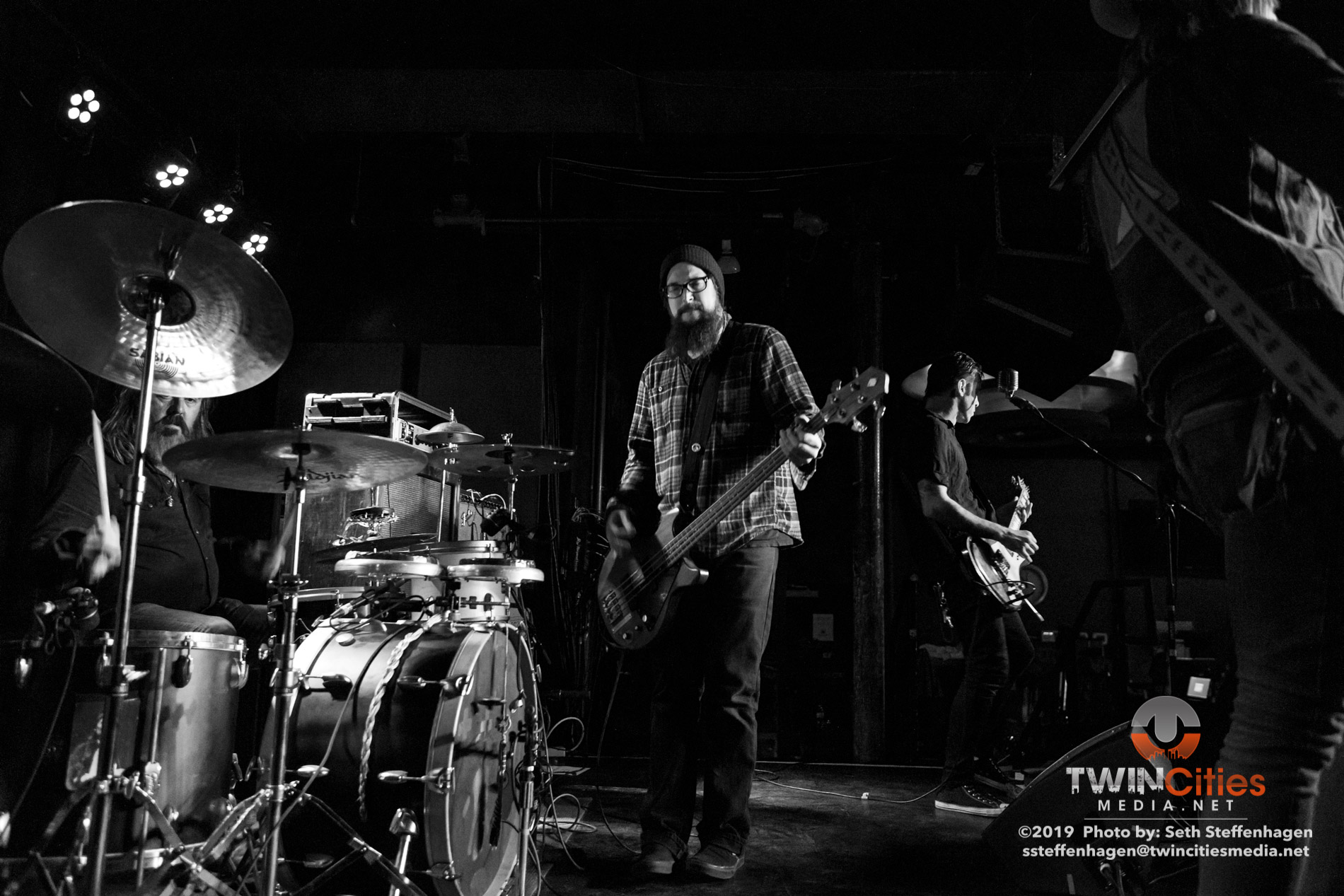 August 31, 2019 - Saint Paul, Minnesota, United States - Wovenhand live in concert at the Turf Club along with Wax Lead and Ulkum as the openers.(Photo by Seth Steffenhagen/Steffenhagen Photography)