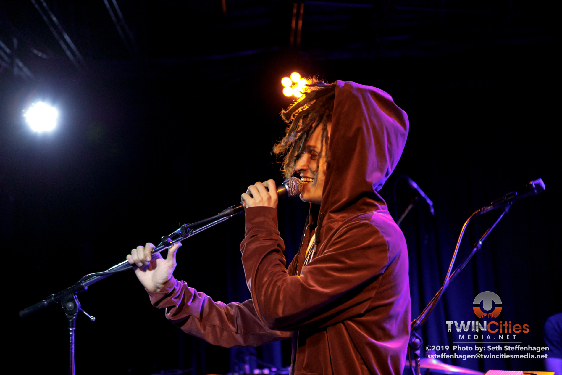 October 2, 2019 - Minneapolis, Minnesota, United States -  altopalo  live in concert at 7th Street Entry  opening for Cosmo Sheldrake.  (Photo by Seth Steffenhagen/Steffenhagen Photography)