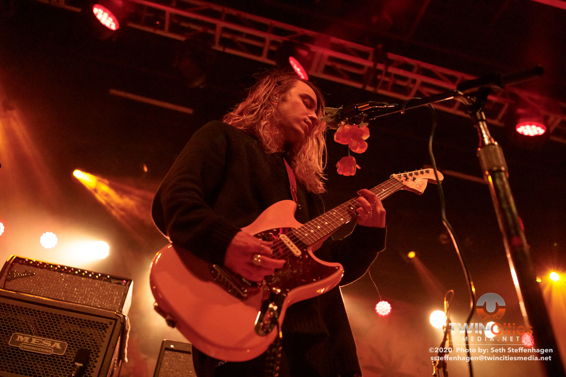January 30, 2020 - Minneapolis, Minnesota, United States -  Holy Fawn live in concert at First Avenue opening for Thrice.  (Photo by Seth Steffenhagen/Steffenhagen Photography)
