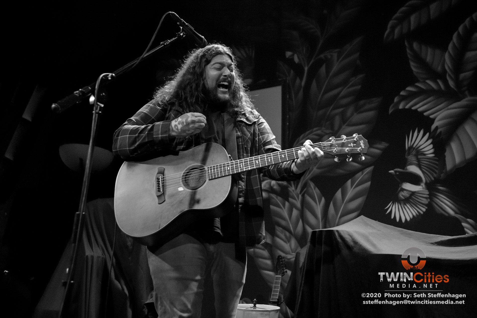March 12, 2020 - Minneapolis, Minnesota, United States -  Amigo The Devil live in concert at The Cedar Cultural Center opening for Murder By Death.  (Photo by Seth Steffenhagen/Steffenhagen Photography)