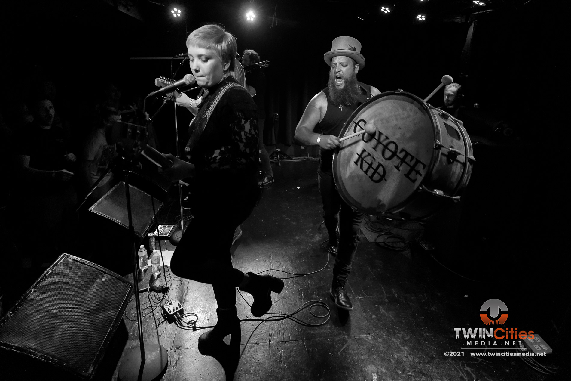 August 5, 2021 - Minneapolis, Minnesota, United States - Coyote Kid live in concert at 7th Street Entry  along with Careful Gaze and Happy Birthday Mr. Baskets as the openers.  (Photo by Seth Steffenhagen/Steffenhagen Photography)