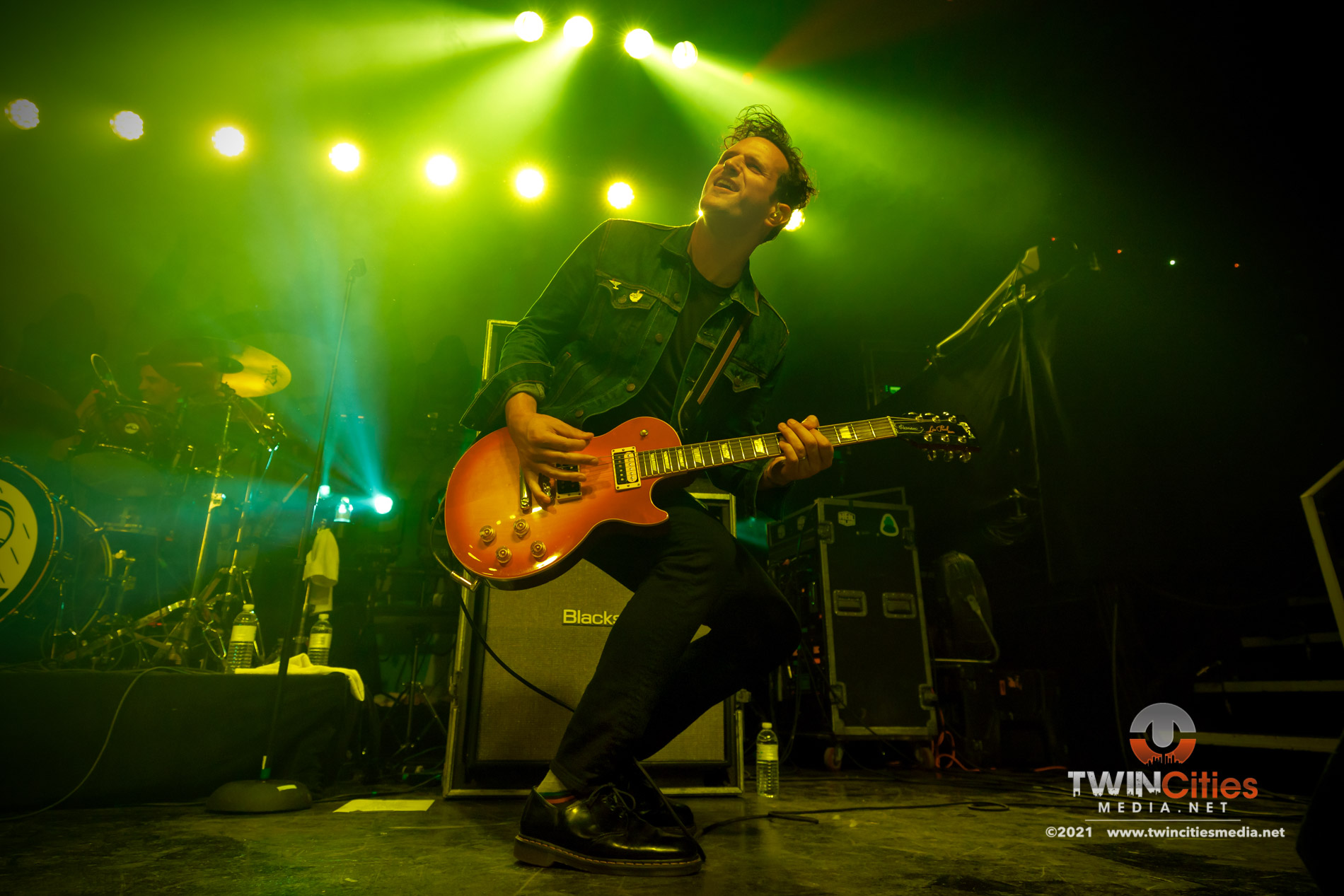 September 17, 2021 - Minneapolis, Minnesota, United States -  Senses Fail live in concert at First Avenue opening for Bayside.  (Photo by Seth Steffenhagen/Steffenhagen Photography)