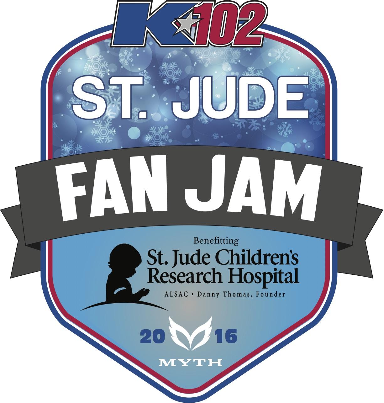 K102's St. Jude Fan Jam 2016 Myth 11/30
