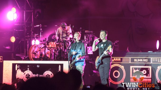 Blink-182 & Atlas Genius Chase Bad Weather Out Of Town For ...