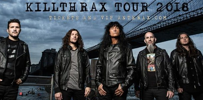 The KillThrax 2018 Tour Will Bring Anthrax and Killswitch