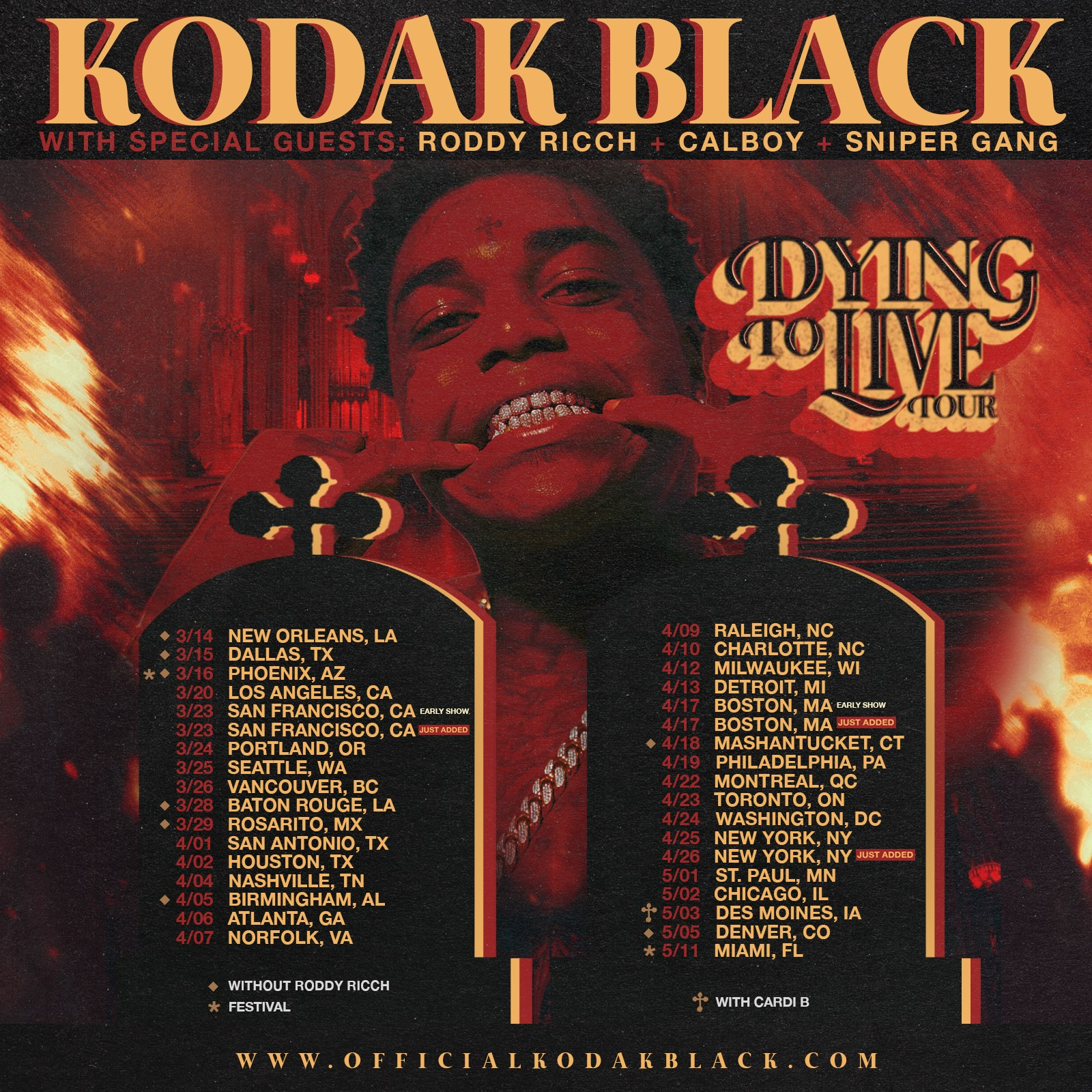 kodak black denver meet and greet