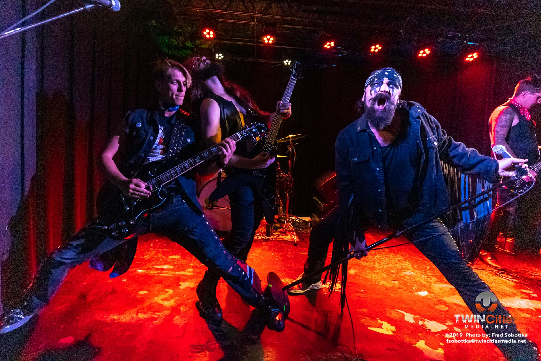 Hank Von Hell Impresses With First Minneapolis Show In Over