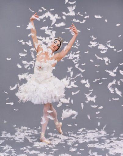 Les Ballets Trockadero - The Dying Swan - Company Photo