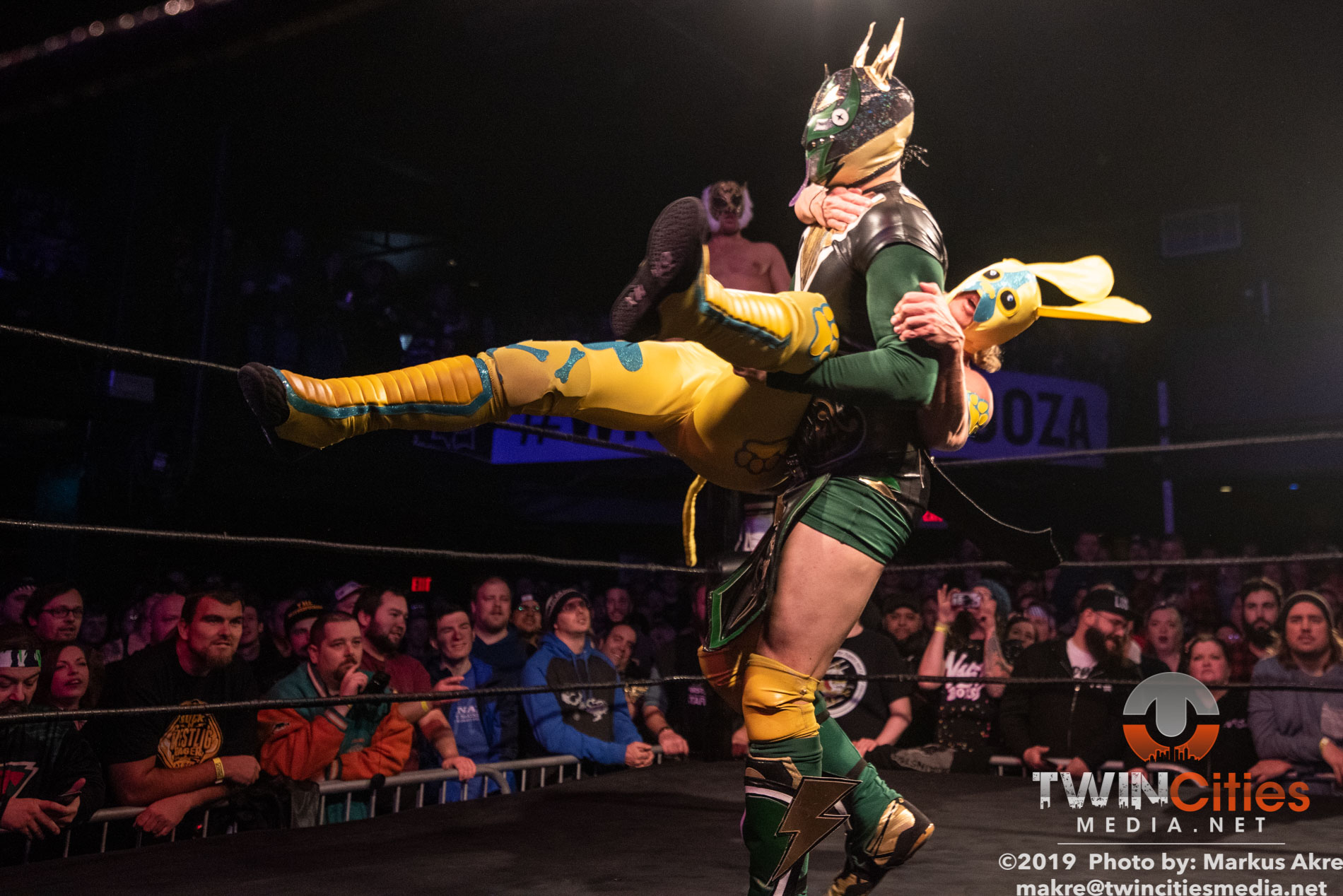 Wrestlepalooza - Match 1-11