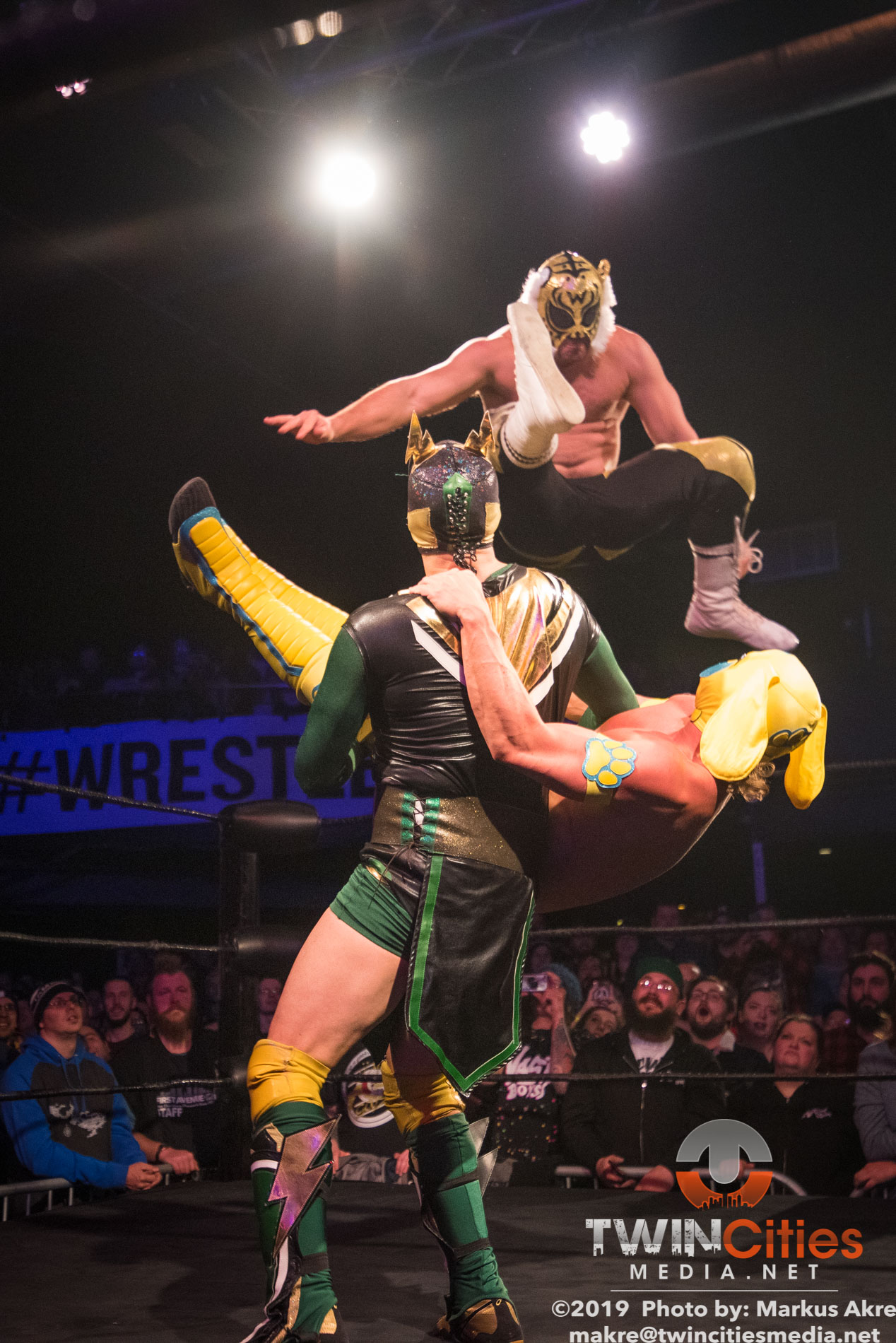 Wrestlepalooza - Match 1-12