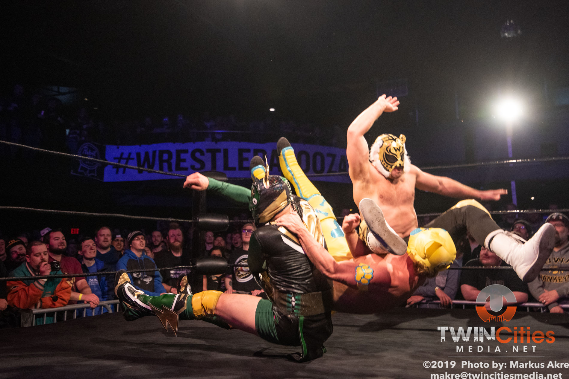 Wrestlepalooza - Match 1-13