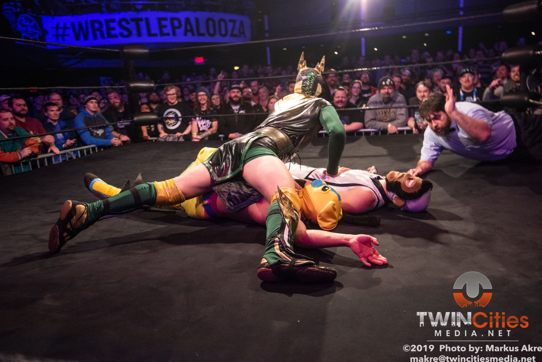 Wrestlepalooza - Match 1-7
