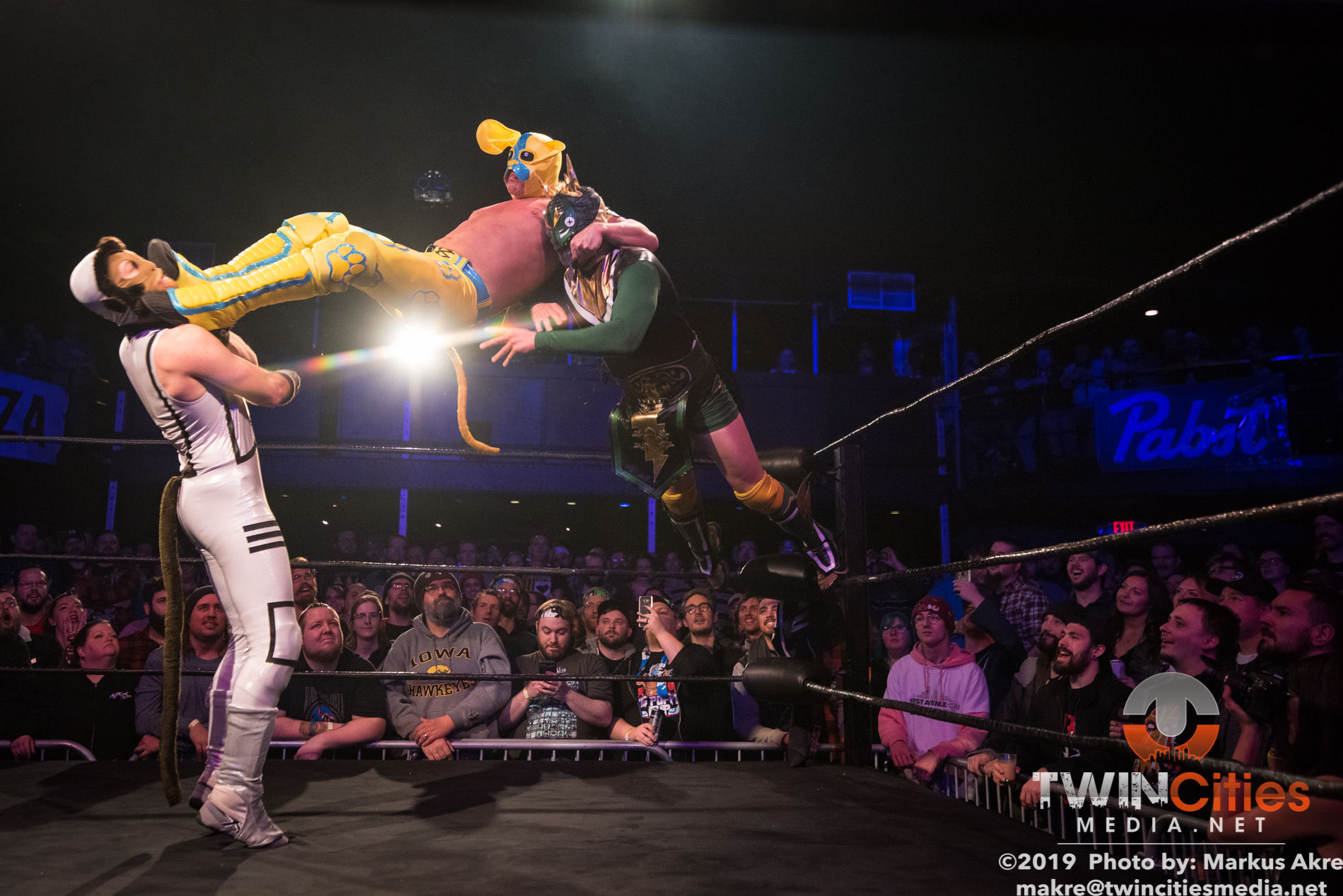 Wrestlepalooza - Match 1-9