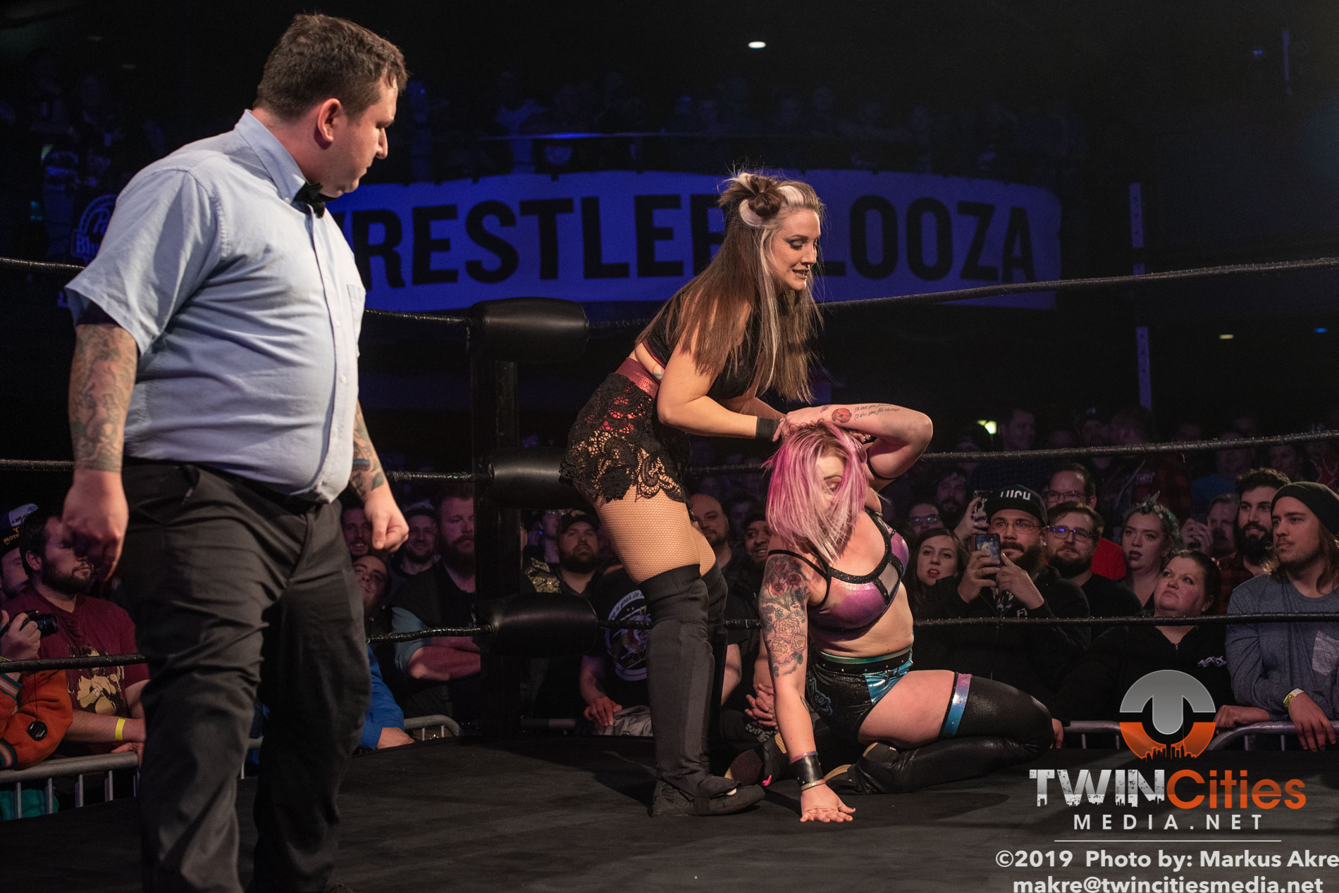 Wrestlepalooza - Match 2-5
