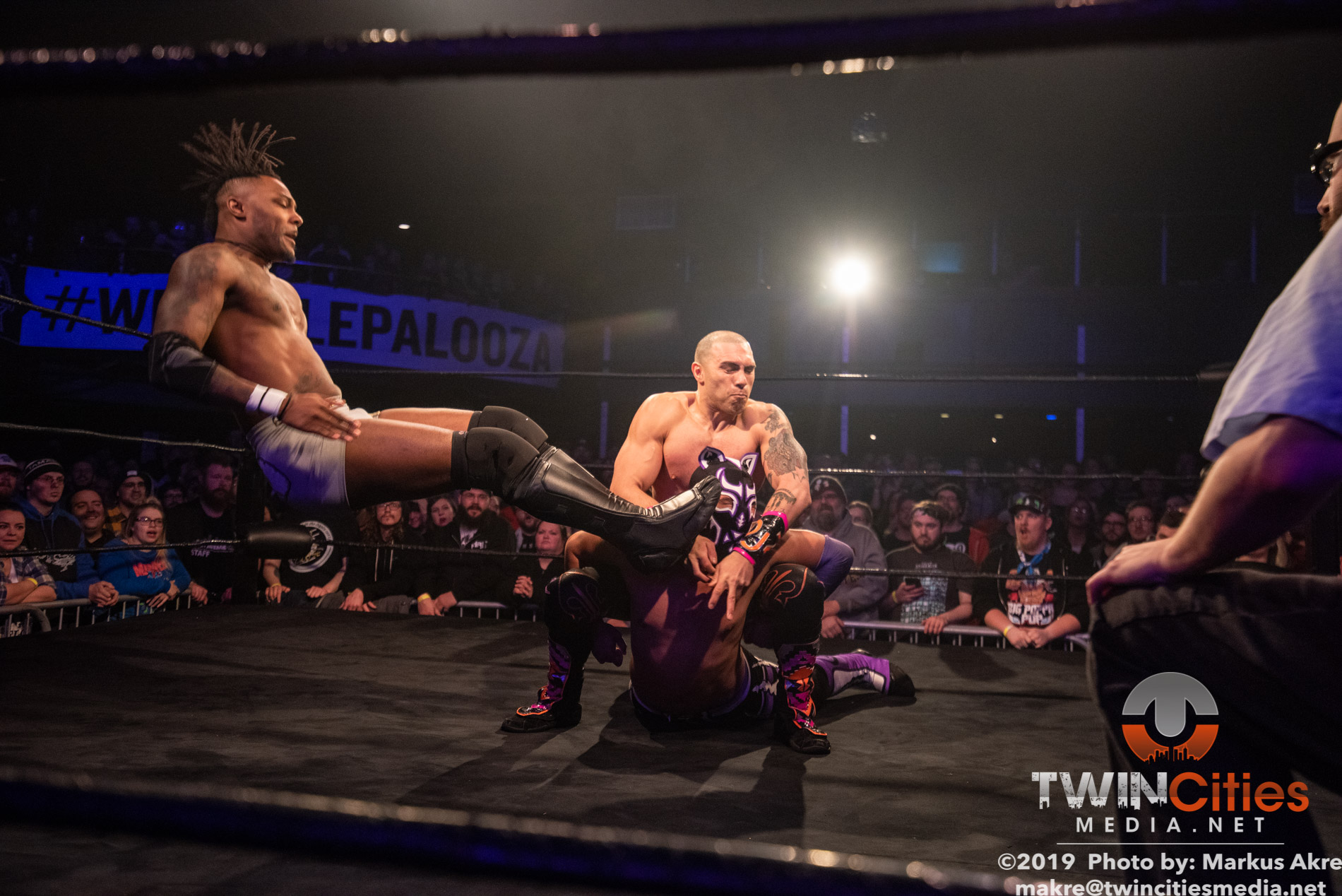 Wrestlepalooza - Match 6-9