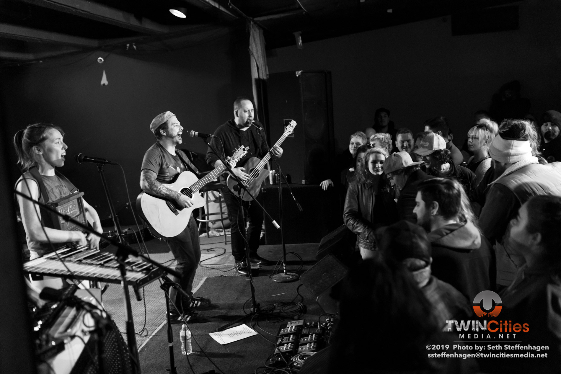 January 16, 2019 - Minneapolis, Minnesota, United States -  Harley Poe live in concert at the Skyway Theatre, Studio B opening for Amigo The Devil.  (Photo by Seth Steffenhagen/Steffenhagen Photography)