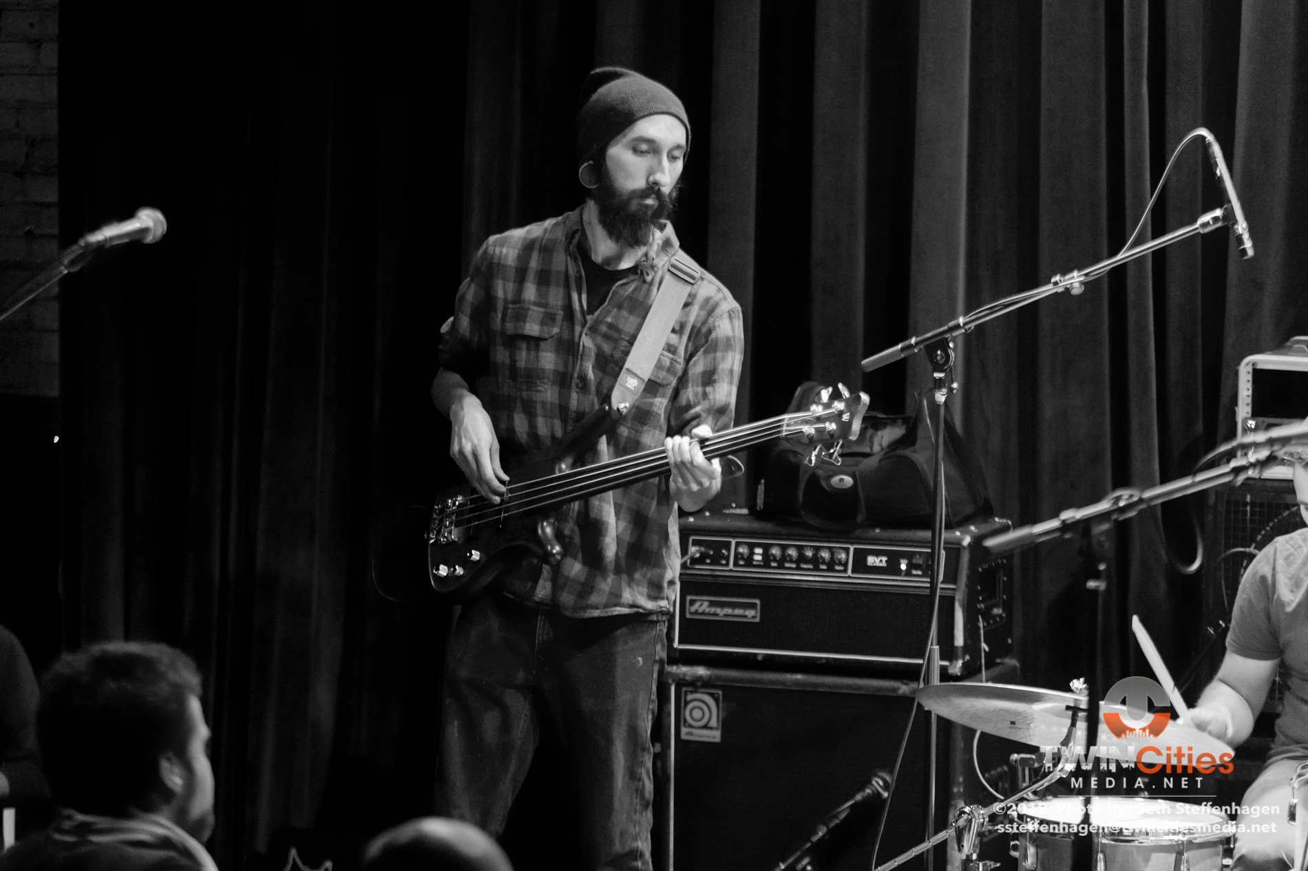 January 18, 2019 - Minneapolis, Minnesota, United States -  Hardcore Crayons live in concert at the Icehouse. Opening for Self-Evident's Lost Inside The Machinery album release show.  (Photo by Seth Steffenhagen/Steffenhagen Photography)