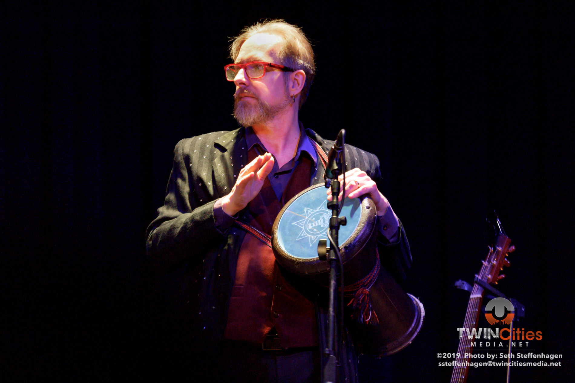 March 15, 2019 - Minneapolis, Minnesota, United States -  Orkestar Bez Ime live in concert at the Cedar Cultural Center opening for MarchFourth.  (Photo by Seth Steffenhagen/Steffenhagen Photography)