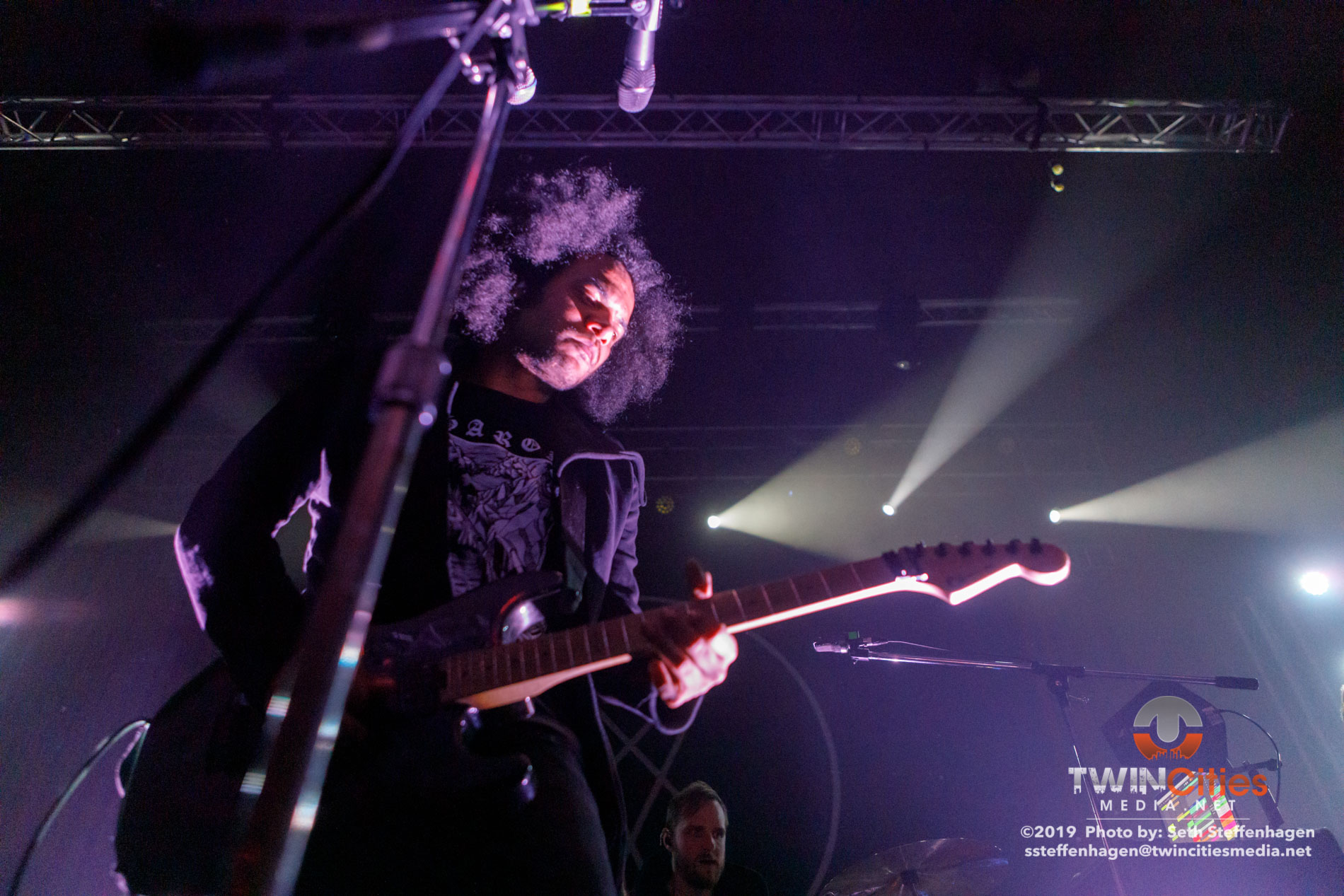 March 29, 2019 - Minneapolis, Minnesota, United States -  Zeal & Ardor live in concert at the Skyway Theatre opening for co-headliners Deafheaven and Baroness.  (Photo by Seth Steffenhagen/Steffenhagen Photography)