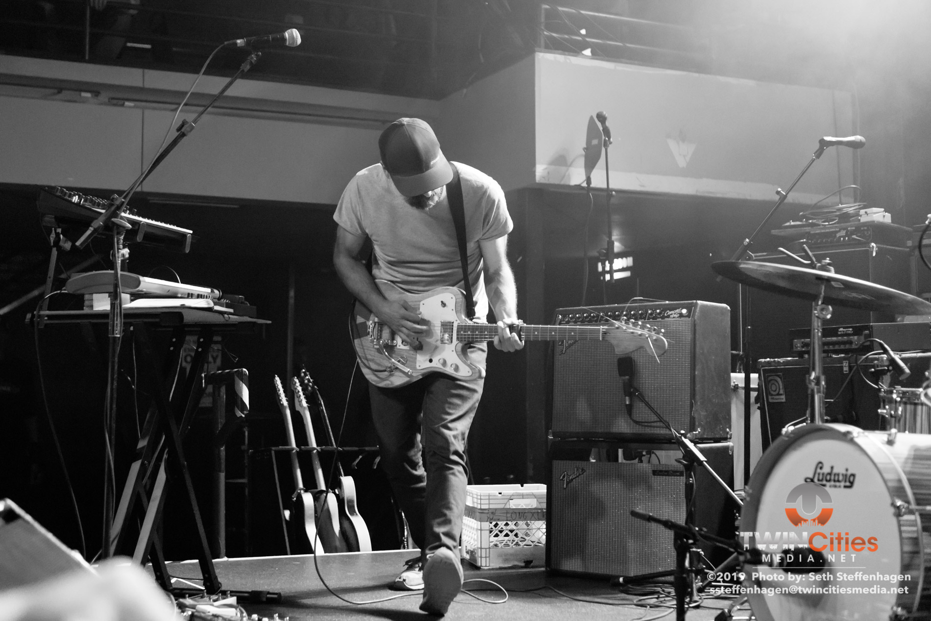 May 4, 2019 - Minneapolis, Minnesota, United States -  The Appleseed Cast live in concert at the Fine Line opening for Cursive.  (Photo by Seth Steffenhagen/Steffenhagen Photography)