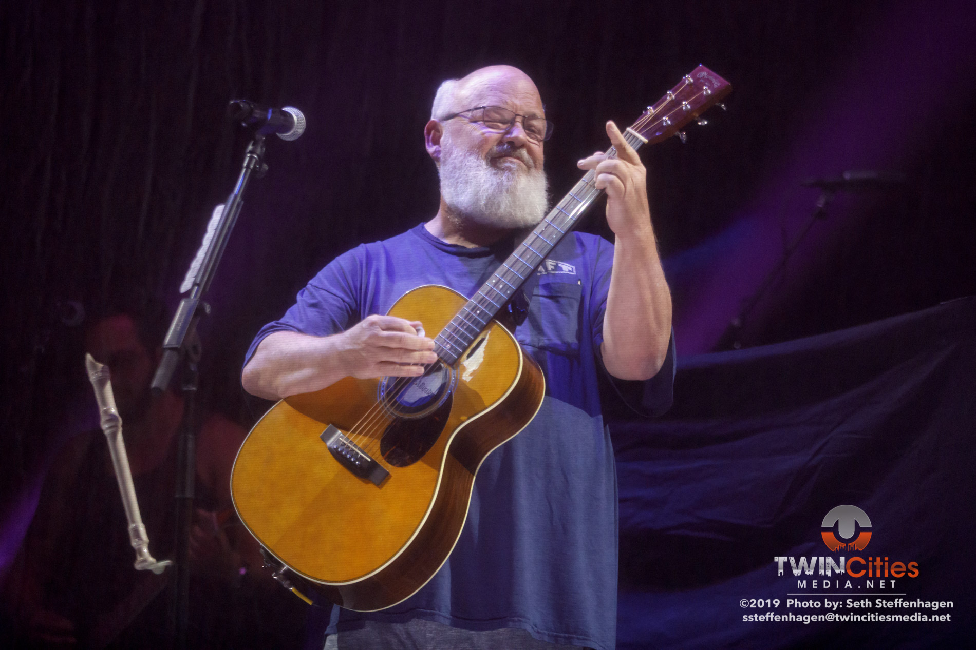 July 30, 2019 - Saint Paul, Minnesota, United States - Tenacious D live in concert at the Palace Theatre along with Wynchester as the openers.  (Photo by Seth Steffenhagen/Steffenhagen Photography)