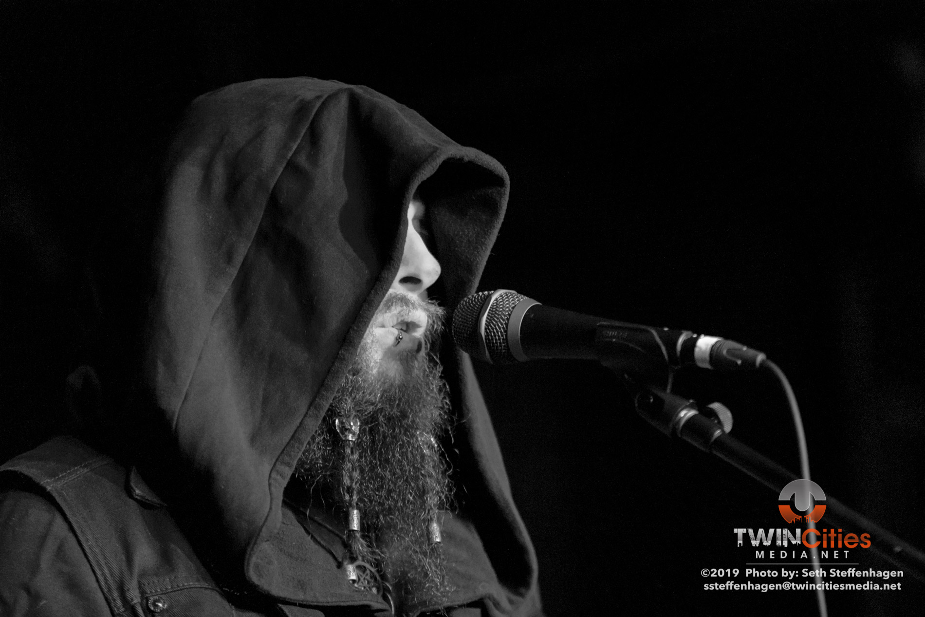August 31, 2019 - Saint Paul, Minnesota, United States -  Ulkum live in concert at the Turf Club opening for Wovenhand.  (Photo by Seth Steffenhagen/Steffenhagen Photography)