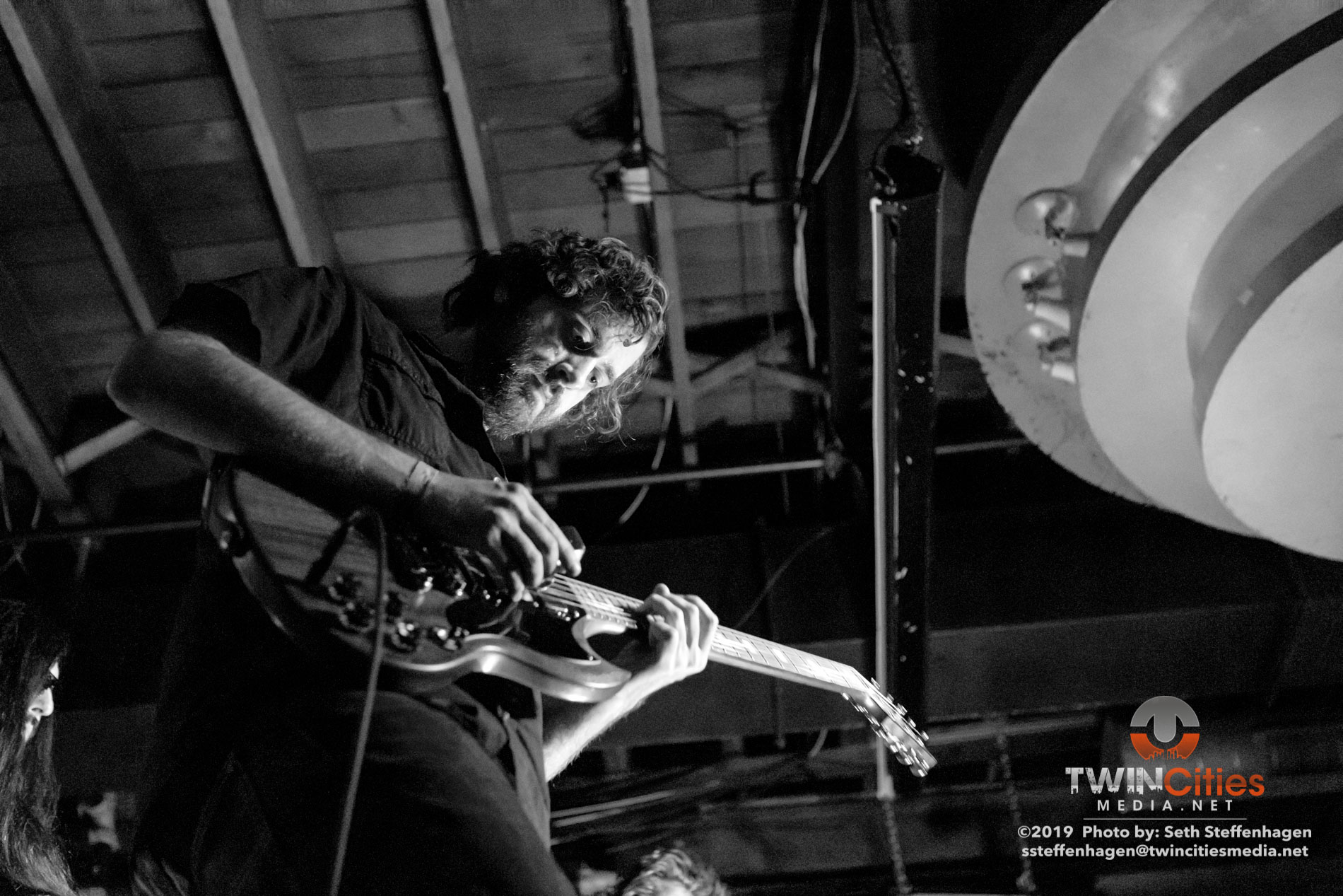 August 31, 2019 - Saint Paul, Minnesota, United States -  Wax Lead live in concert at the Turf Club opening for Wovenhand.  (Photo by Seth Steffenhagen/Steffenhagen Photography)