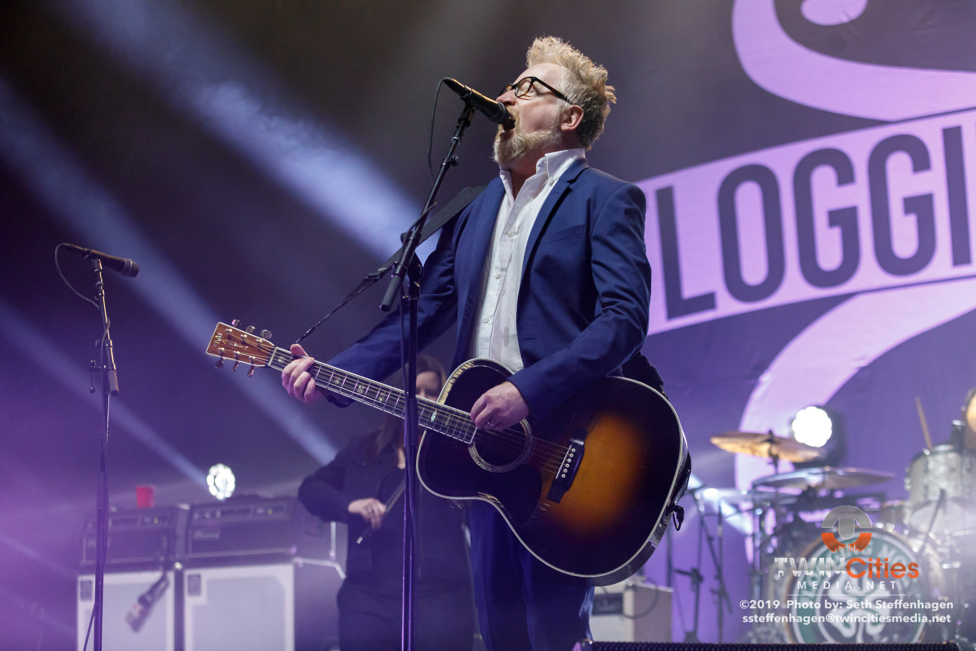 September 8, 2019 - Minneapolis, Minnesota, United States - Flogging Molly live in concert at the The Armory. Co-headlining with Social Distortion along with The Devil Makes Three and Le Butcherettes as the openers.  (Photo by Seth Steffenhagen/Steffenhagen Photography)