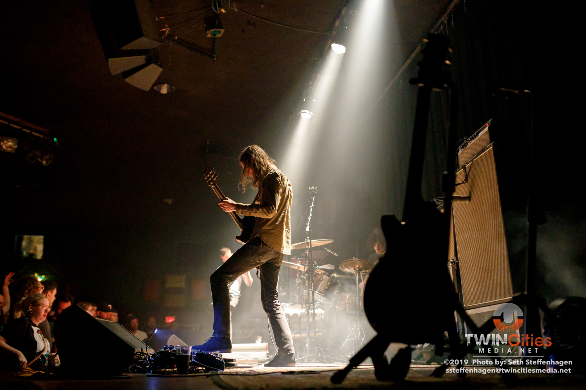 September 12, 2019 - Minneapolis, Minnesota, United States - Russian Circles live in concert at The Cedar Cultural Center along with FACS as the openers.  (Photo by Seth Steffenhagen/Steffenhagen Photography)