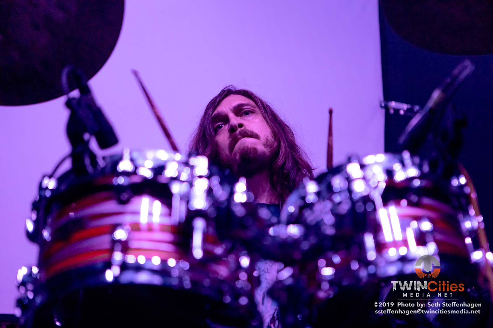 September 18, 2019 - Minneapolis, Minnesota, United States -  Covet live in concert at the Skyway Theatre opening for Periphery.  (Photo by Seth Steffenhagen/Steffenhagen Photography)