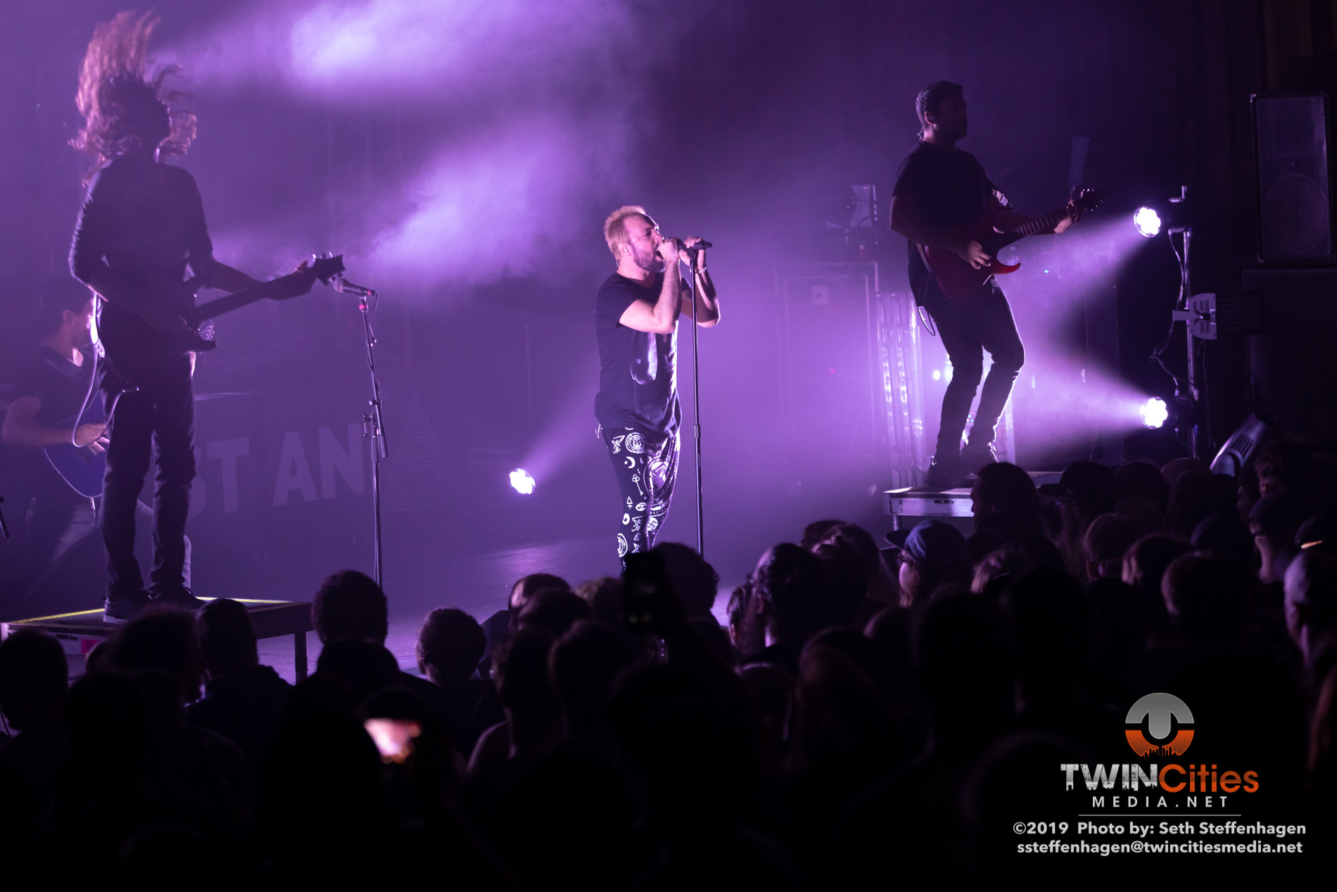 September 18, 2019 - Minneapolis, Minnesota, United States - Periphery live in concert at the Skyway Theatre along with Veil Of Maya and Covet as the openers.(Photo by Seth Steffenhagen/Steffenhagen Photography)