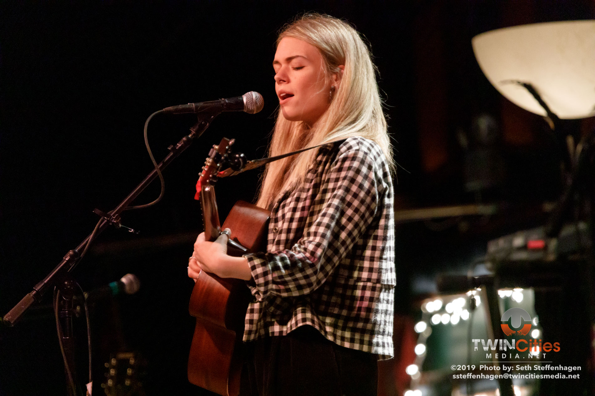 November 15, 2019 - Minneapolis, Minnesota, United States -  Chloe Foy live in concert at The Cedar Cultural Center opening for Jesca Hoop.  (Photo by Seth Steffenhagen/Steffenhagen Photography)