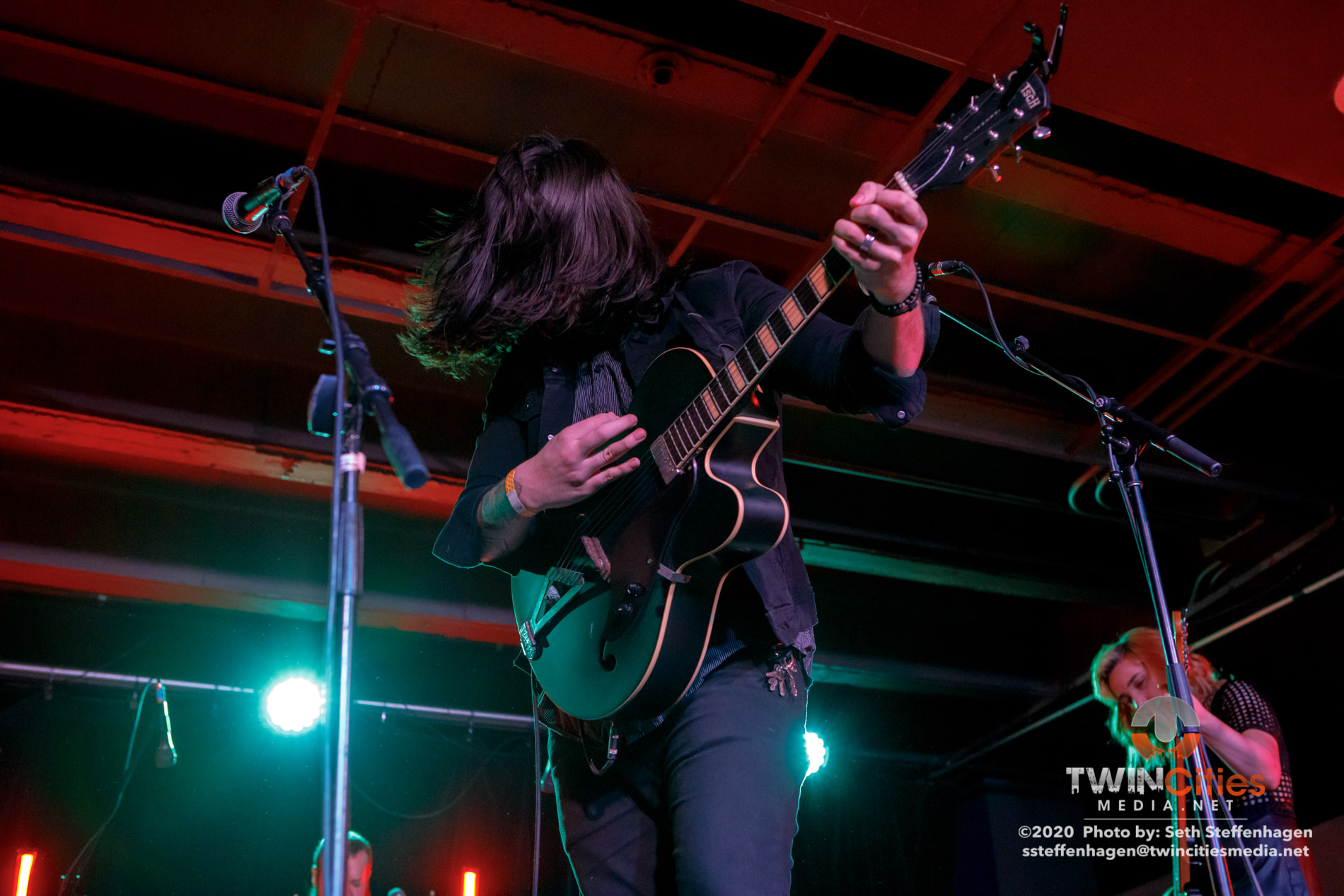 February 23, 2020 - Minneapolis, Minnesota, United States -  Coyote Kid live in concert at the Skyway Theatre Studio B opening for Motherfolk.(Photo by Seth Steffenhagen/Steffenhagen Photography)