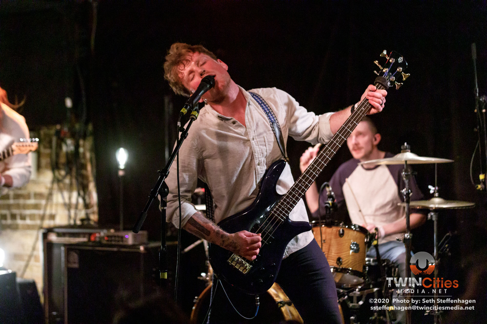 March 1, 2020 - Minneapolis, Minnesota, United States - Careful Gaze live in concert at Whiskey Junction opening for Coyote Kid.  (Photo by Seth Steffenhagen/Steffenhagen Photography)