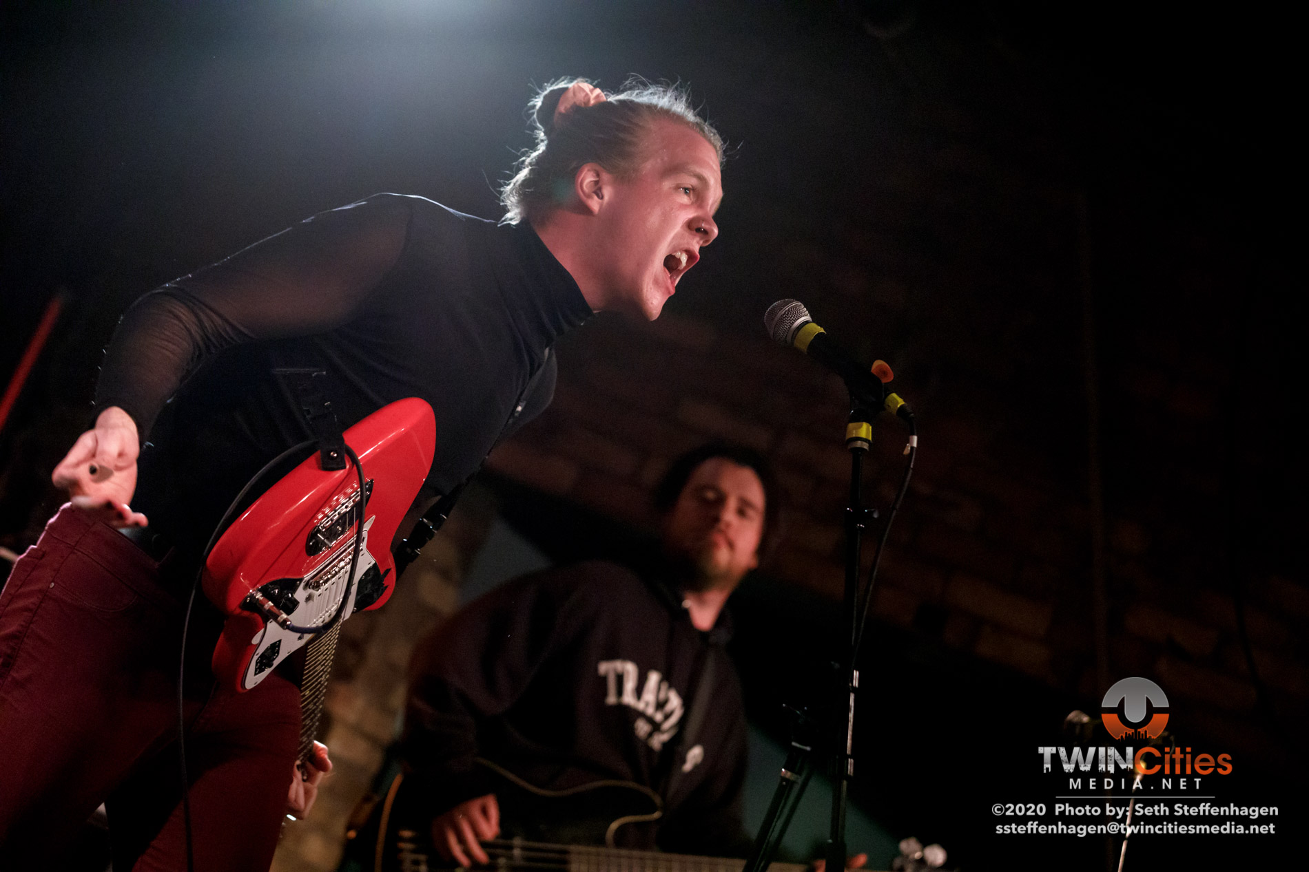 March 1, 2020 - Minneapolis, Minnesota, United States - Vermillion Heights live in concert at Whiskey Junction opening for Coyote Kid.  (Photo by Seth Steffenhagen/Steffenhagen Photography)