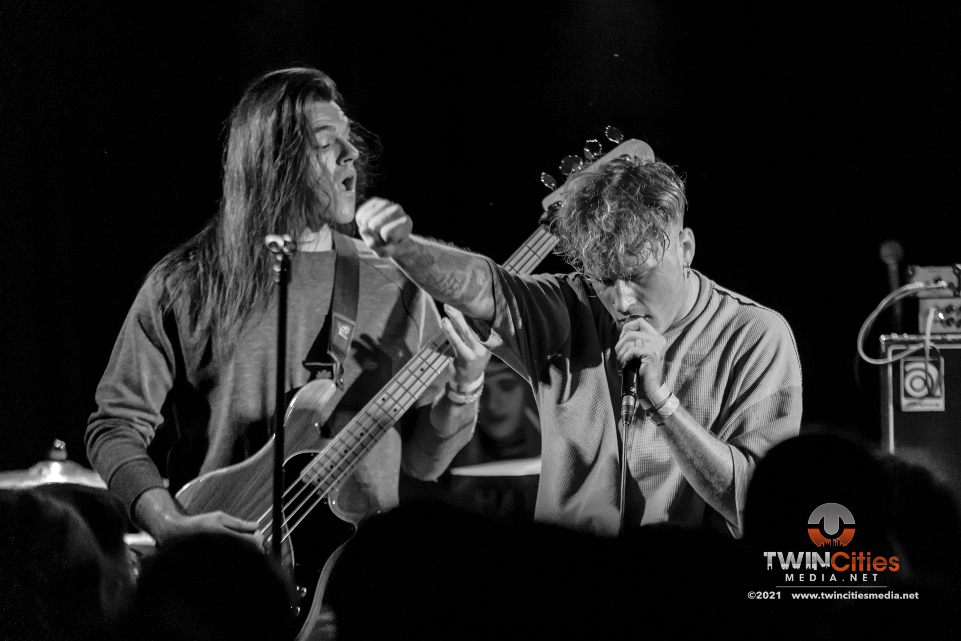 August 5, 2021 - Minneapolis, Minnesota, United States - Careful Gaze live in concert at 7th Street Entry  opening for Coyote Kid.  (Photo by Seth Steffenhagen/Steffenhagen Photography)
