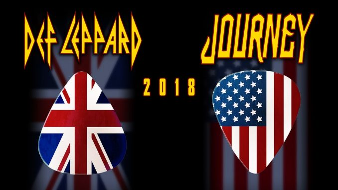 Journey and Def Leppard Performing at Target Field 7/27